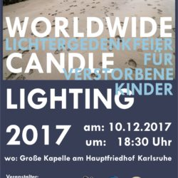 Worldwide Candle Lighting 10. Dezember 2017